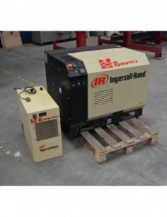 Compresor tornillo usado Ingersoll Rand con secador