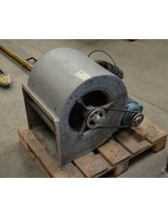 Turbina con motor a correas ASEA 1.5HP