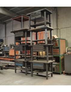 Bancos de trabajo HECO 1300x800mm