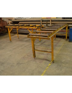 Caminos rodillos metálicos para sierras de cinta