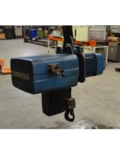 Polipastos eléctrico usado cadenas DEMAG 1000kg