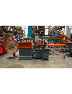 Enderezadora y cortadora tubos cobre Margua ET-18
