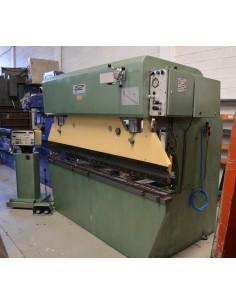 Plegadora hidráulica EPART 2500x75t 2 ejes