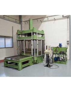Prensa para probar moldes 250t