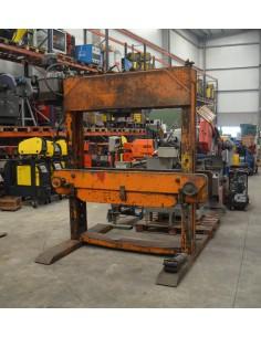 Prensa taller motorizada usada 60t