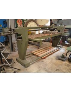 Pulidora / Lijadora banda tableros madera Lluró