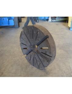 Plato usado torno 4 garras independientes - d 800mm