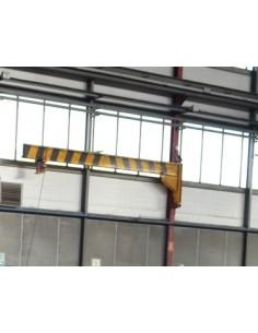 Bandera de pilar 6m con polipasto DEMAG 500kg