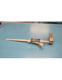 Gramil medidor de altura usado digital 300mm 0,01mm