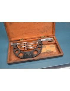 Micrómetro exterior analógico PAV 0-100mm