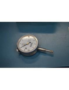 Lote 4 comparadores analógicos centesimales 0,01mm