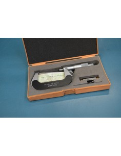 Lote 4 micrómetros exteriores analógicos de 50-75mm