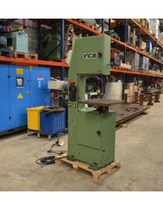 Sierra vertical usada INCA S-400 con soldadora