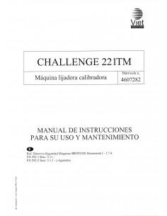 Manual instrucciones Calibradora VIET Challenge 221TM