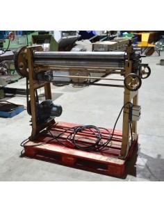 Cilindro usado motorizado 1000x2mm - 75mm diam.