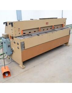 Cizalla mecánica usada LLavia 2050x4mm