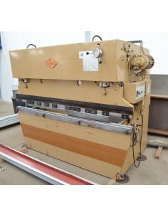 Plegadora hidráulica usada AJIAL 2500x65t con tope manual