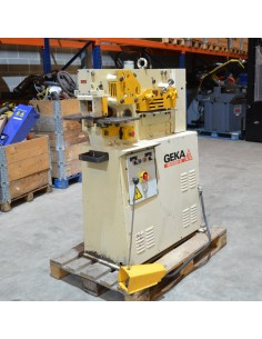 Punzonadora hidráulica usada GEKA Microcrop 36