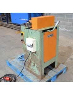 Retestadora aluminio usada manual Lamsa